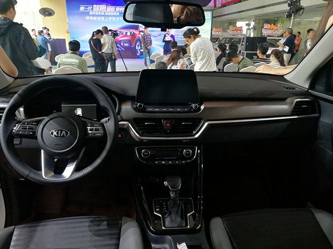 起亚全新战略SUV智跑智慧上市