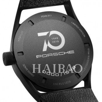 镌刻时光——致敬保时捷成立70周年限量腕表